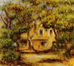 the farm at collettes by pierre auguste renoir painting