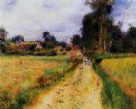 the farm ii by pierre auguste renoir paintings
