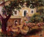the farm by pierre auguste renoir painting