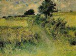 the field by pierre auguste renoir paintings