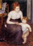 the first step by pierre auguste renoir painting