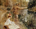 the fisherman by pierre auguste renoir paintings