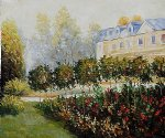 the garden at fontenay 1874 by pierre auguste renoir painting