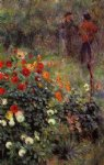 the garden in the rue cortot at montmartre by pierre auguste renoir painting