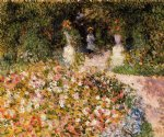 the garden by pierre auguste renoir painting