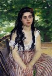 the gypsy girl by pierre auguste renoir painting