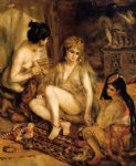 pierre auguste renoir the harem prints
