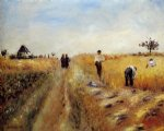 the harvesters by pierre auguste renoir paintings