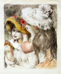 the hatpin by pierre auguste renoir painting