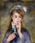the ingenue by pierre auguste renoir paintings