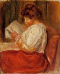the little reader ii by pierre auguste renoir paintings