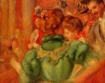 the loge by pierre auguste renoir paintings
