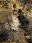 love art - the lovers by pierre auguste renoir