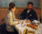the luncheon by pierre auguste renoir painting
