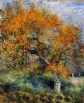 pierre auguste renoir the pear tree painting