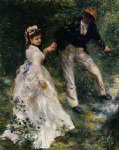the promenade ii by pierre auguste renoir paintings