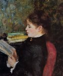 pierre auguste renoir the reader iii posters