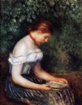 pierre auguste renoir the reader la liseuse painting