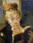 pierre auguste renoir the reader posters