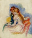 pierre auguste renoir the reading posters