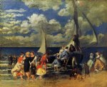pierre auguste renoir the return of the boating party posters