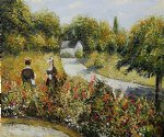 pierre auguste renoir the rose garden at wargemont 1879 posters