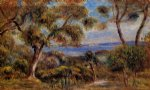 pierre auguste renoir the sea at cagnes posters