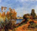 pierre auguste renoir the seine at argenteuil posters
