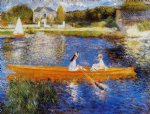 the seine at asnieres by pierre auguste renoir paintings