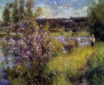 pierre auguste renoir the seine at chatou posters