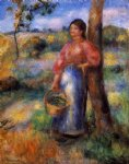 pierre auguste renoir the shepherdess posters