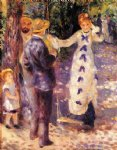 the swing by pierre auguste renoir paintings