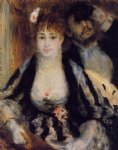the theater box ii by pierre auguste renoir painting