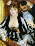 the theater box by pierre auguste renoir painting