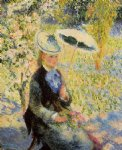 the umbrella by pierre auguste renoir painting