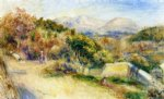 pierre auguste renoir the view from collettes cagnes posters