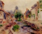 pierre auguste renoir the village painting