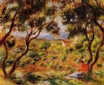 pierre auguste renoir the vineyards of cagnes posters
