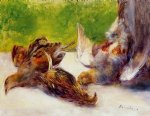 pierre auguste renoir three partridges posters