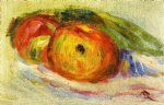 two apples by pierre auguste renoir paintings