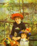 pierre auguste renoir two sisters (on the terrace) posters