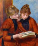 two sisters ii by pierre auguste renoir paintings