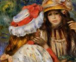 two sisters iii by pierre auguste renoir paintings