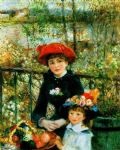 pierre auguste renoir two sisters on the terrace posters