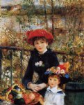 two sisters by pierre auguste renoir paintings