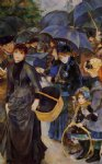 umbrellas by pierre auguste renoir paintings