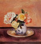 pierre auguste renoir vase of flowers ii painting 26470