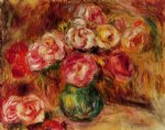 pierre auguste renoir vase of flowers iv painting