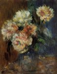 vase of peonies by pierre auguste renoir paintings