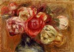 vase of roses iii by pierre auguste renoir paintings